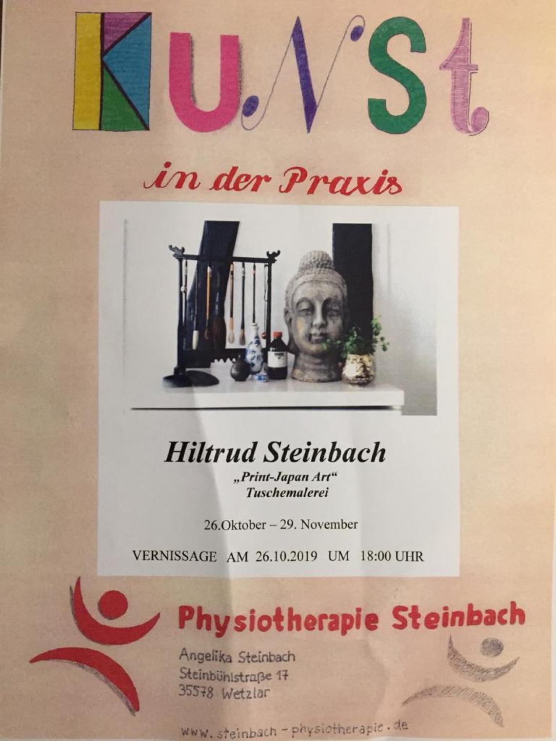 Vernissage -  Kunst in der Praxis - Hiltrud Steinbach
