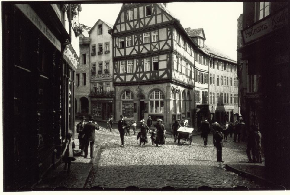 Eisenmarkt in Wetzlar 1913.