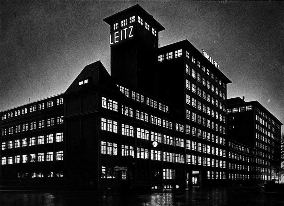 LEITZ Werk in Wetzlar 1940.