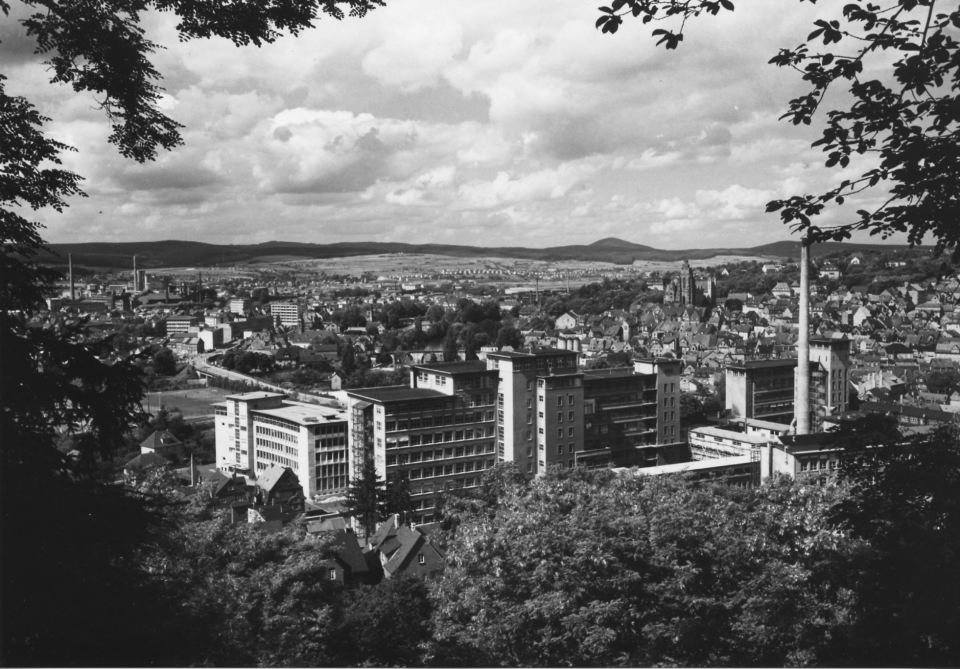 LEITZ Werk in Wetzlar 1957.