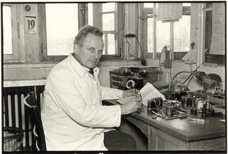 Oskar Barnack, 1933.